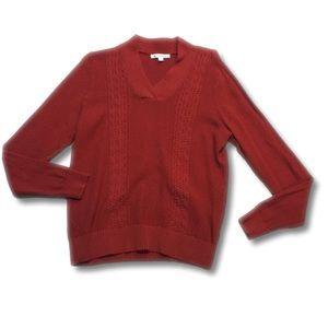 Studio Works Long Sleeve V-neck Sweater